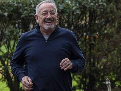 Karlos Arguiñano, en Zarauz a finales de 2019.