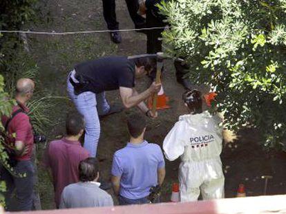 El arrestado, expareja de la mujer, convivía con ella en un domicilio en Terrassa