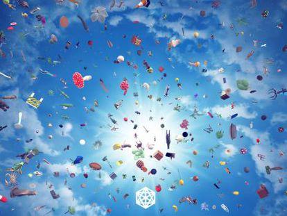 Una imagen del videojuego 'Everything' de David O'Reilly.