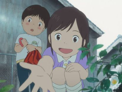 Imagen de 'Mirai, mi hermana pequeña', de Mamoru Hosoda.