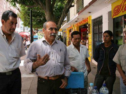 Hernández Acevedo (segundo por la izquierda), en una imagen de archivo.