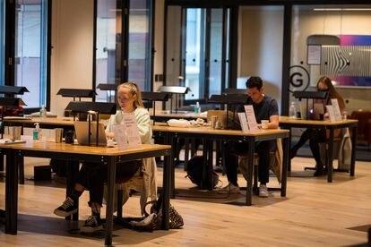 La demanda de espacios de 'coworking' ha crecido un 300%.
