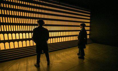 'El pueblo átomo', instalación del colectivo belga Traumnovelle en el Matadero de Madrid.