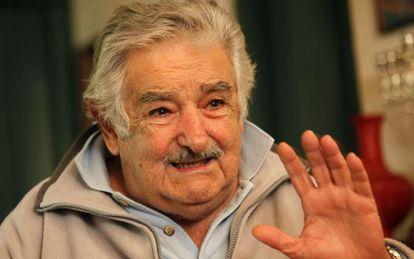 El presidente de Uruguay, José Mujica, durante una visita reciente a China.