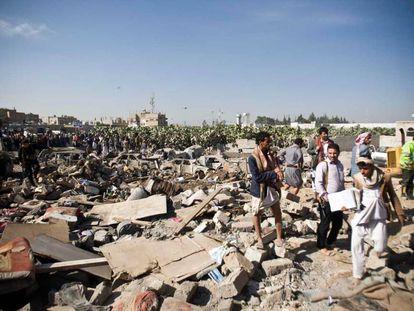 Un modo eficaz de ayudar a las víctimas de la guerra en Yemen es no vender armas a sus verdugos.
