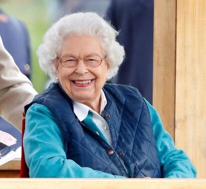 Isabel II, en una exhibición de caballos en Windsor en julio de 2021.