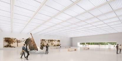 La ampliación del museo incluirá una nueva sala de exposiciones con una superficie de 1.500 metros cuadrados.