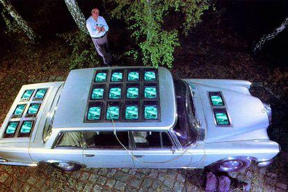 <i>Die Winde</i>, de Wolf Vostell (Berlín, 1981), que se exhibirá en Arts Santa Mònica en la exposición <i>TV/ARTS/TV.</i>