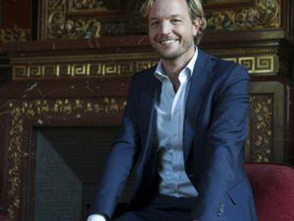 Markus Langes-Swarovski, en la Casa de América de Madrid.