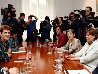 Los socialistas no votarán en ningún caso a las candidaturas que EH Bildu presente en las más de 270 localidades de la región