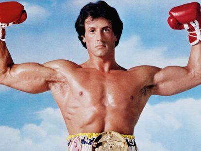 Sylvester Stallone en todo su esplendor en 'Rocky III' (1982).
