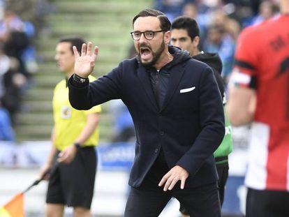 Bordalás, entrenador del Getafe.