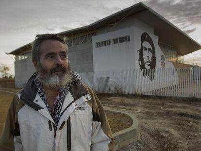 Juan Manuel Sánchez Gordillo, este jueves en Marinaleda.