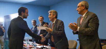 Clausura del curso de la Escuela de Ingeniería de Edificación de Sevilla.