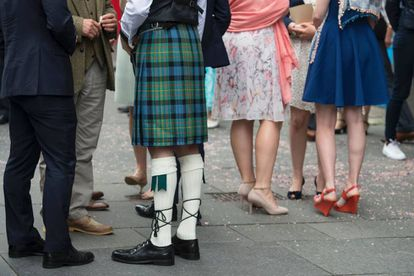 Escoceses en Edimburgo, el 25 de junio.