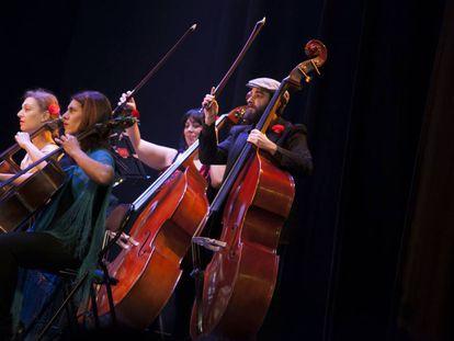 Actuación de Camerata Musicalis el pasado diciembre.