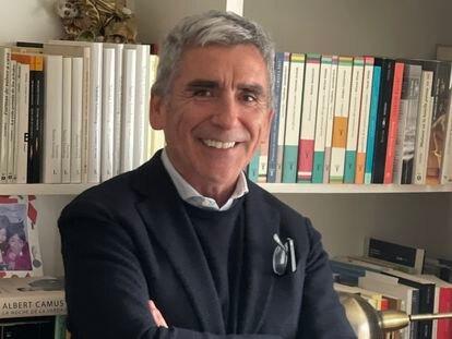 Carlos Peña, rector de la Universidad Diego Portales de Chile, en una foto de archivo.