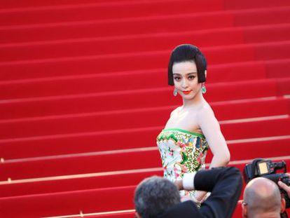 La actriz Fan Bingbing, protagonista de la serie china censurada 'La emperatriz de China'.