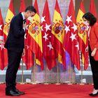 Isabel Díaz Ayuso, presidenta de la Comunidad de Madrid, tomó el mando de la oposición a Pedro Sánchez durante la pandemia reforzada por los aznaristas.  Su consagración fue la visita del presidente a su sede de gobierno el 21 de septiembre.