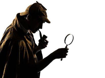 El detective Sherlock Holmes.