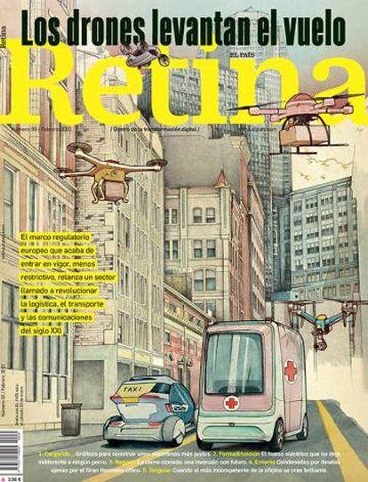 Número 35 de la Revista Retina, este sábado 30 en el quiosco.