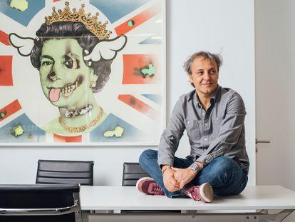 Junio de 2021 - Reportaje con Narcís Rebollo, presidente de Universal Music. Narcis Rebollo en las oficinas de Universal en Madrid.