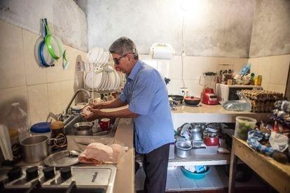 El sistema de acueducto del pueblo Portugal. La planta y algunos de sus beneficiados.