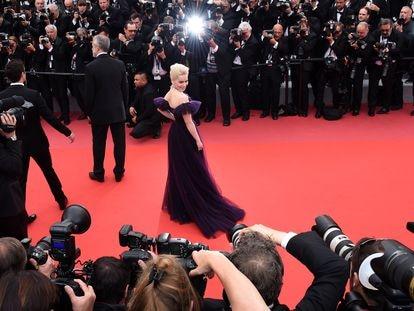 Emilia Clarke, en la alfombra del Festival de Cannes de 2018