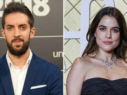 David Broncano y Adriana Ugarte.
