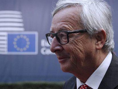 El presidente de la Comisión Europea, Jean-Claude Junker.