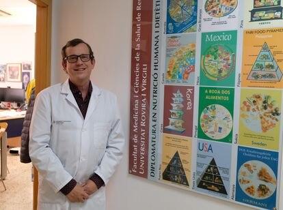 Jordi Salas-Salvadó, en la Universidad Rovira i Virgili.