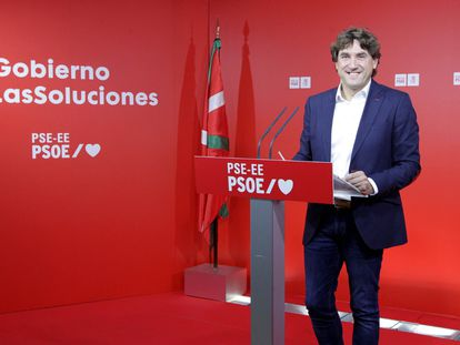 Eneko Andueza presenta este viernes en Bilbao su candidatura a dirigir el PSE-EE.