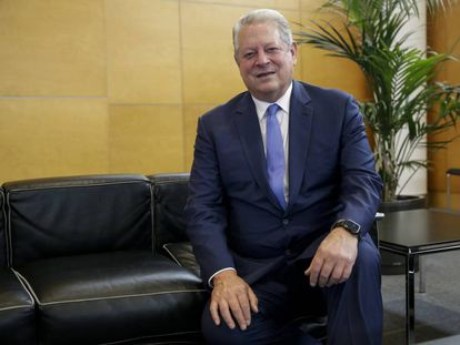 Al Gore, exvicepresidente de EE UU, en la COP25.
