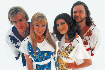 Bjorn Again, el más famoso de los grupos de imitadores de ABBA.