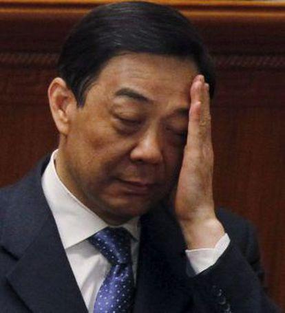 Bo Xilai, en Pekín, el pasado abril.