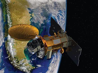 La misión de observación de la Tierra Aquarius/SAC-D lleva un instrumento especial para medir la salinidad de las agua superficiales oceánicas.