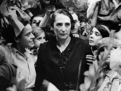 La Pasionaria, en una imagen de 1936.