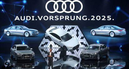 Presentación de los nuevos vehículos de Audi en Barcelona.