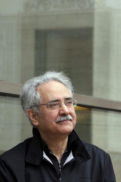 Sidi Mohamed Barkat, ayer en Barcelona.