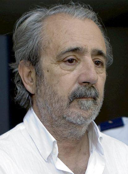 Oscar Collado, tras declarar ante el juez.