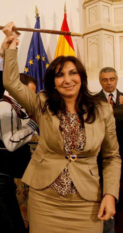 La alcaldesa de Rota, Eva Corrales (PP).