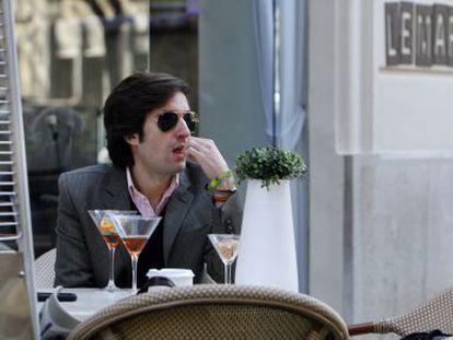 Carlos Lirio, en la terraza del hotel donde se aloja el jurado.