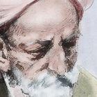 El filósofo Ibn Arabí, en un grabado del siglo XIX.