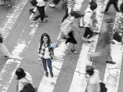 El estrés es habitual en la vida en las grandes ciudades.
