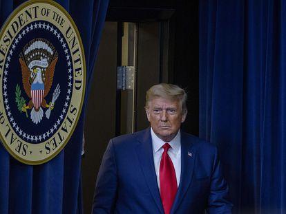 Donald Trump, el martes en Washington DC.