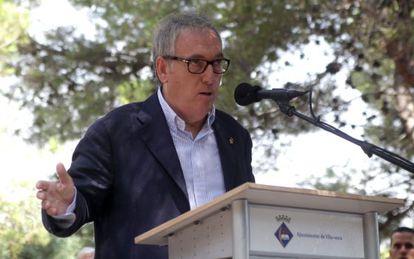 Josep Poblet, alcalde de Vila-seca y Presidente de la Diputación de Tarragona por CiU.