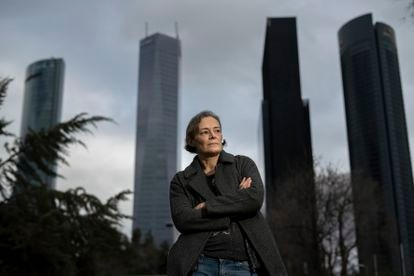 Esther García Llovet, en Madrid el pasado 2 de febrero.