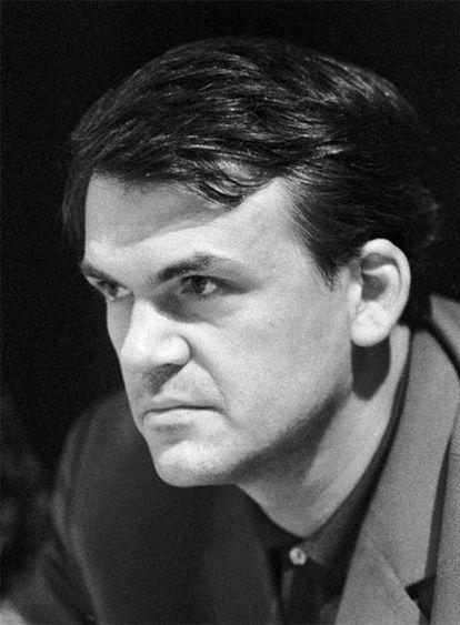 Milan Kundera, en 1967.