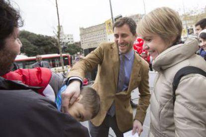 El consejero de Salud, Toni Comín, en un acto público el pasado enero.