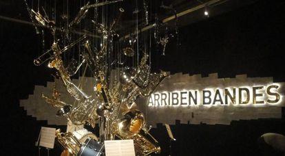 Un aspecto de la exposición 'Arriben bandes' del Museu Valencià d'Etnologia